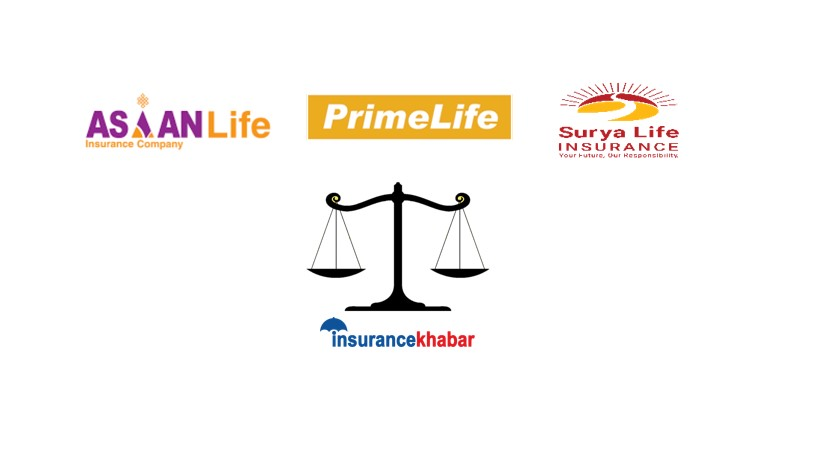 Comparing Asian, Surya and Prime Life