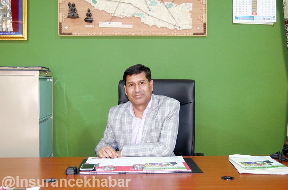 Kabi Pathak re-appointed as the Administrator of Beema Sansthan