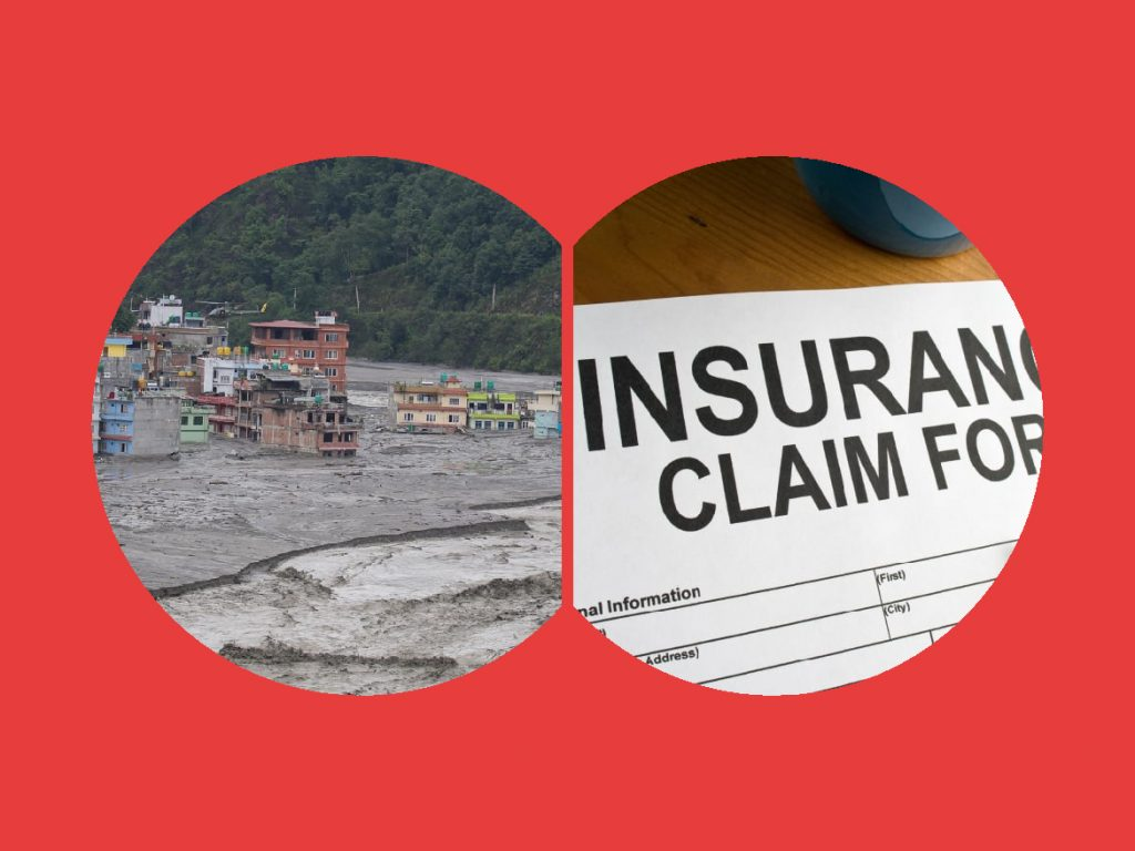Numbers of cases for insurance claim is piling up
