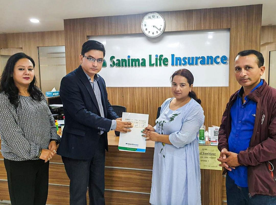 Death Claim of Rs.93.52 lakh paid by Sanima Life