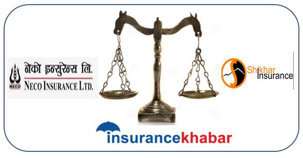 Comparing NECO and Shikhar Insurance on financial indicators