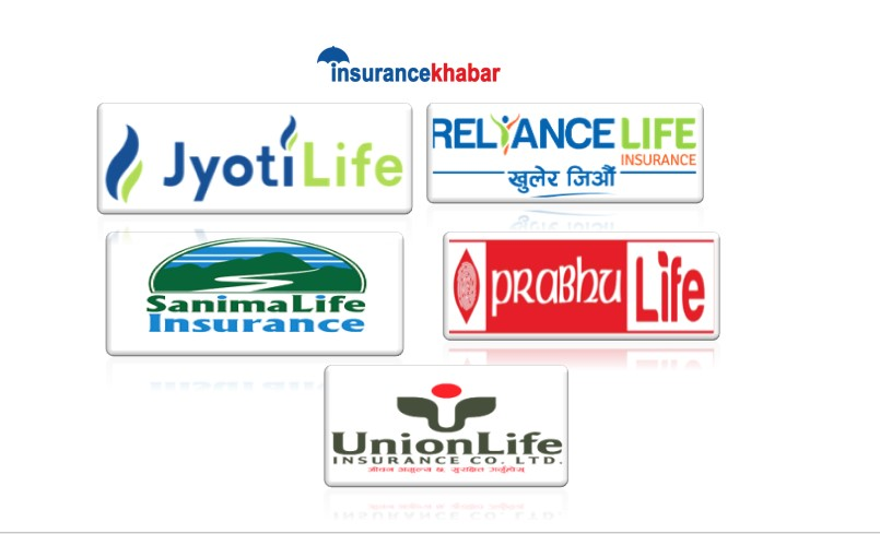 Comparing the performance of 5 New Life Insurers